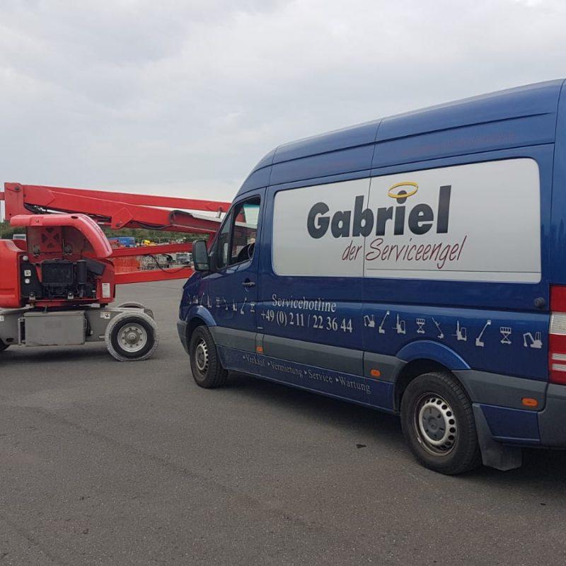 Gabriel der Serviceengel